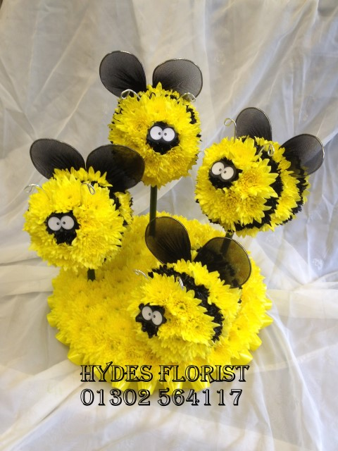 baby bumble bees bee keeper bespoke funeral tributes hydes florists doncaster