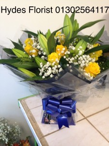 roses and lillies £50