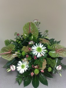 table arrangements from £25