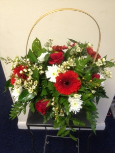 basket arrangements from £30