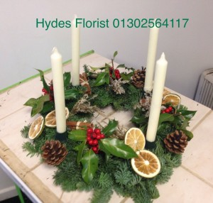 advent wreath £20