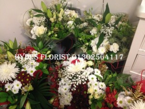 christmas bouquets from £30