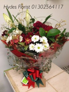 aqua boxed bouquets from £45