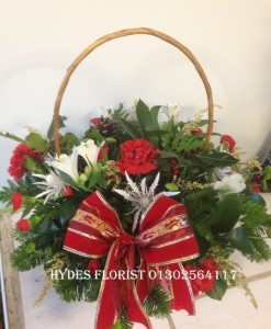christmas baskets from £30