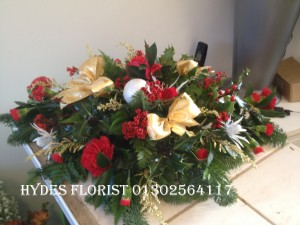 christmas table arrangements from £40