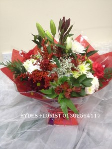 christmas flowers from £45 boxed bouquets