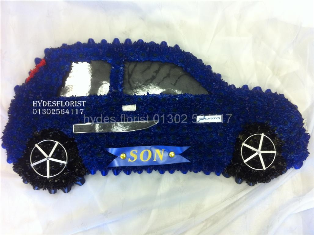 Bespoke funeral tributes hydes florist fiat punto hydes florist izmirmasajfo Image collections