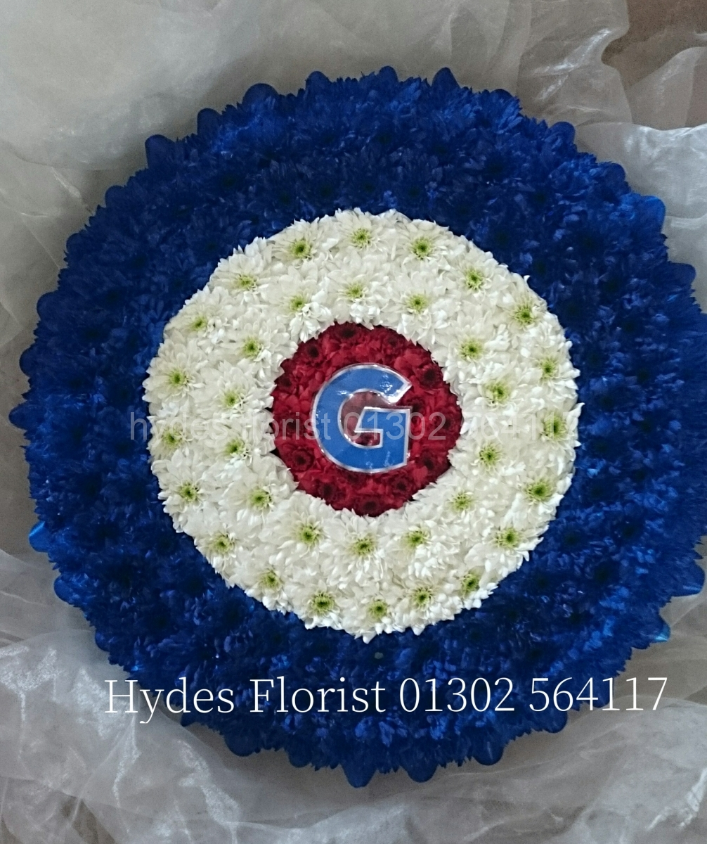 Bespoke funeral tributes hydes florist funeral tributes teddybear hydes florist doncaster izmirmasajfo
