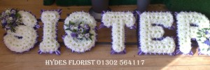 funeral letters sister £170