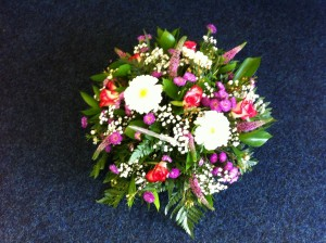 pink posy