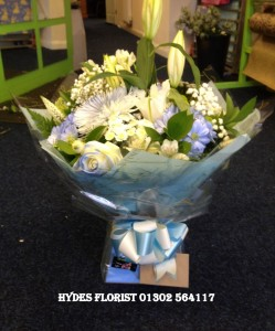 hydes florist doncaster its a boy bouquet (Medium)1