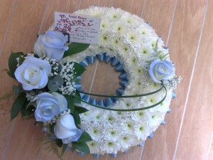 "12"" based wreath"
